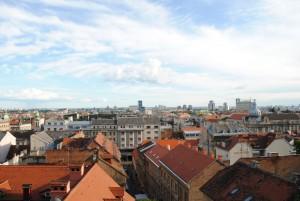 Razgled na mesto z Gornjega grada.