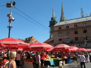 Osrednja mestna tržnica – Dolac.