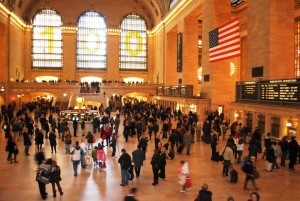 Centralna železniška postaja, največja železniška postaja na svetu, letos praznuje stoto obletnico.