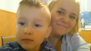 Benjaminovi selfiji s teto Matejo so vedno najboljši :-)